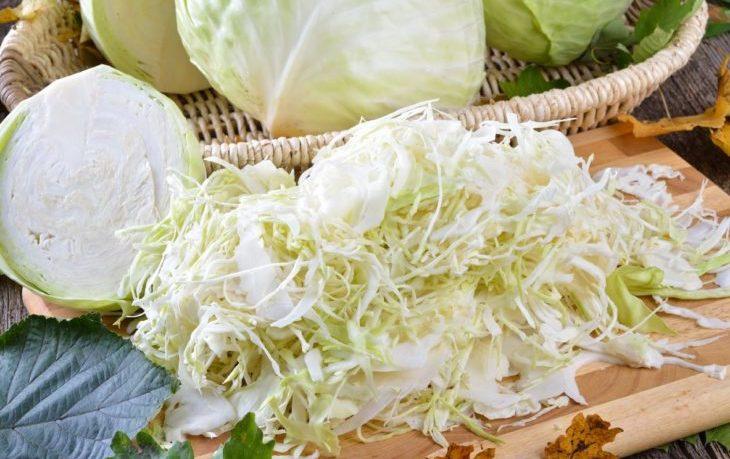 капуста свежая калорийность на 100 грамм