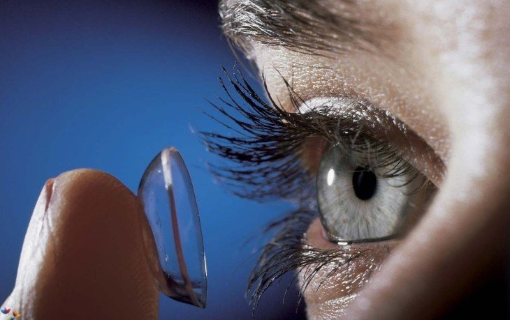 ночные контактные линзы