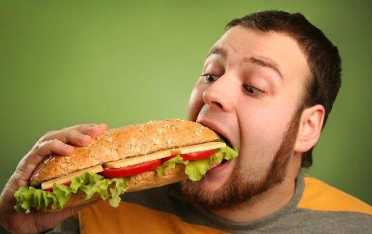 переедание вредит