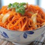 Польза, вред, калорийность моркови по-корейски на 100 грамм