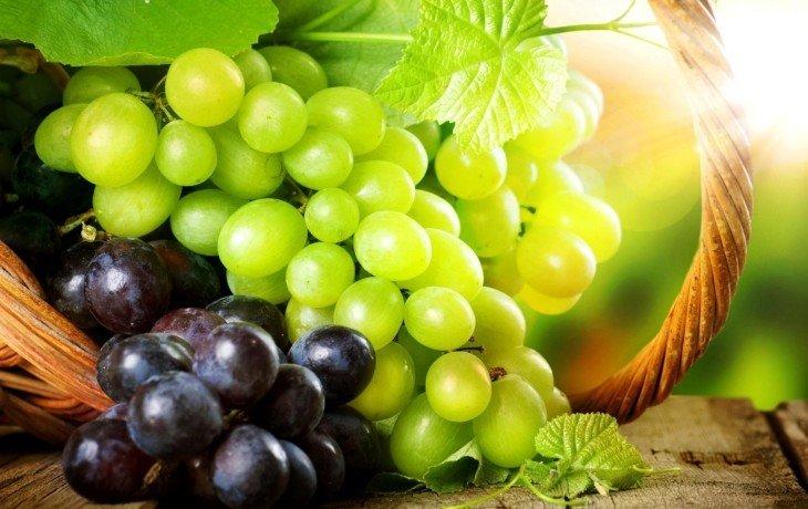 виноград вред