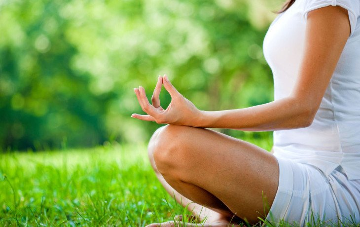 йога при вегетарианстве