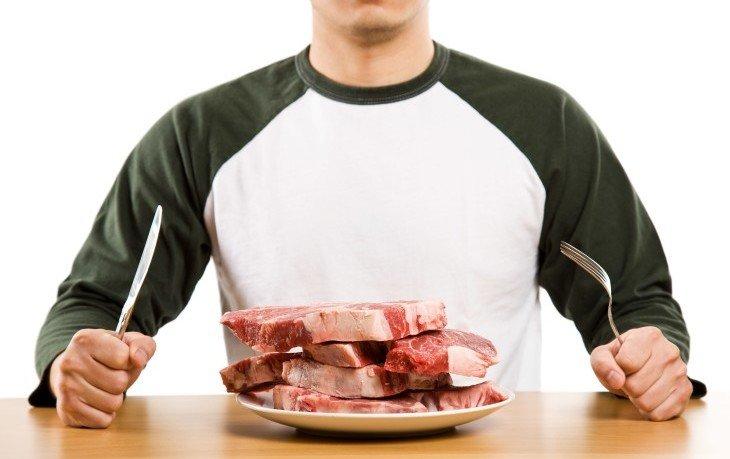 красное мясо вредно