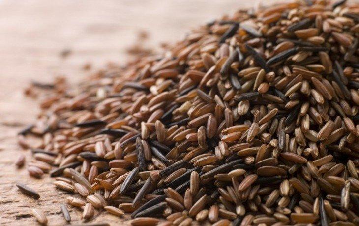 рис бурый вареный калорийность