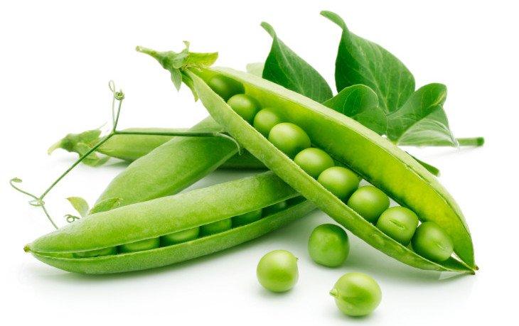 зеленый горошек калорийность на 100 грамм