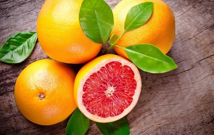 калорийность грейпфрута без кожуры