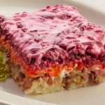Селедка под шубой калорийность салата на 100 грамм, польза, вред