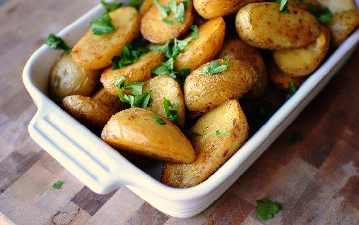 печеный картофель калорийность на 100 грамм