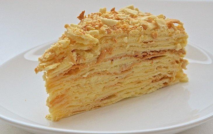 торт наполеон калорийность на 100 грамм