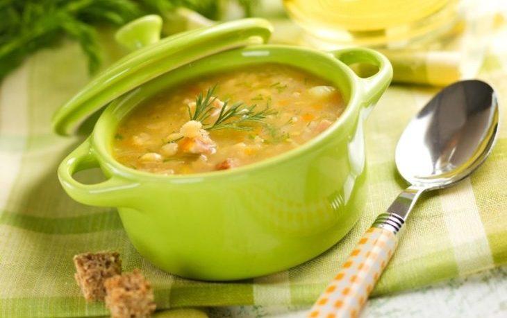 суп гороховый калорийность на 100 грамм