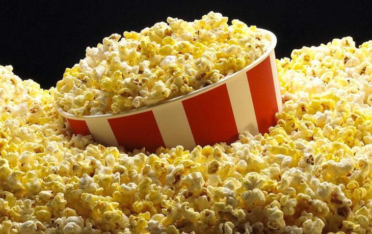 попкорн калорийность на 100 грамм