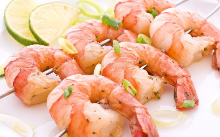 креветки калорийность на 100 грамм