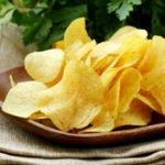 Польза, вред, калорийность чипсов на 100 грамм