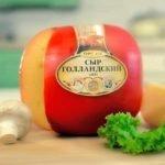 Польза, вред, калорийность голландского сыра на 100 грамм