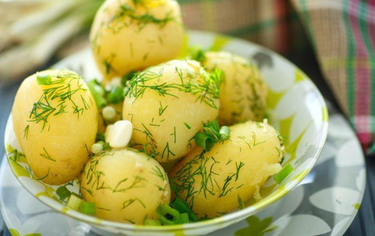 картофель отварной калорийность на 100 грамм
