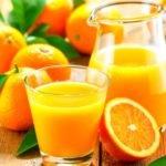 Польза, вред, калорийность апельсинового сока на 100 грамм