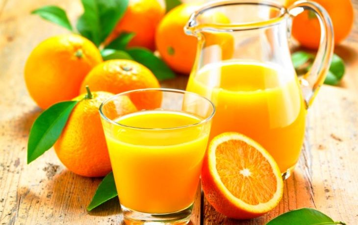 сок апельсиновый калорийность на 100 грамм