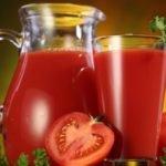 Польза, вред, калорийность томатного сока на 100 грамм