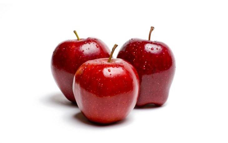 калорийность 1 яблока красного