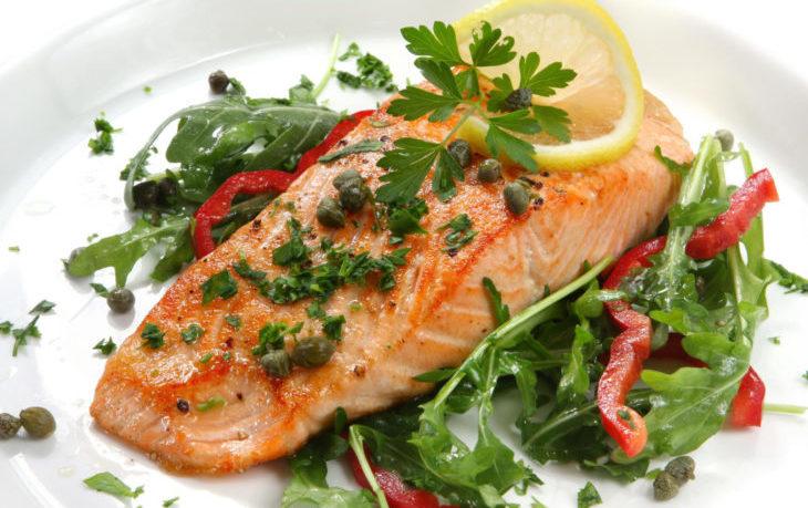 семга слабосоленая калорийность