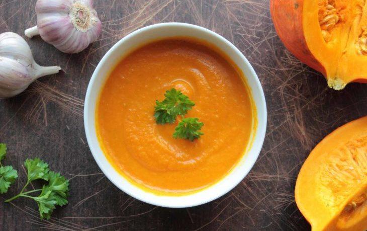 тыквенный суп пюре калорийность