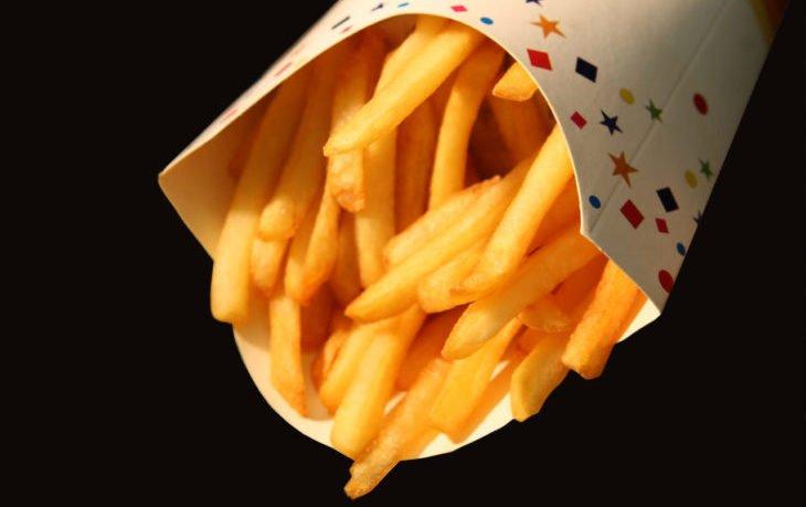 картофель фри макдональдс калорийность