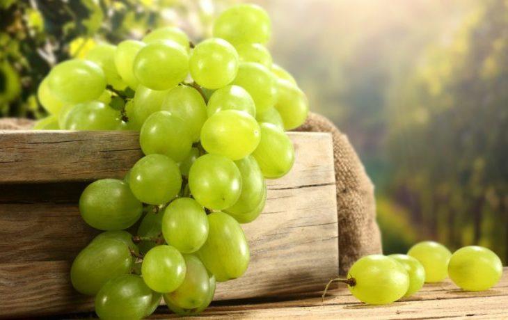 виноград белый калорийность на 100 грамм
