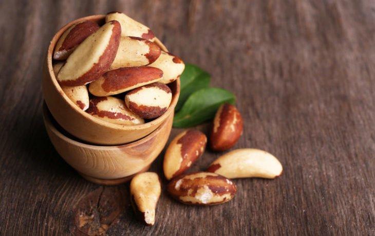 калорийность бразильского ореха в 1 шт.