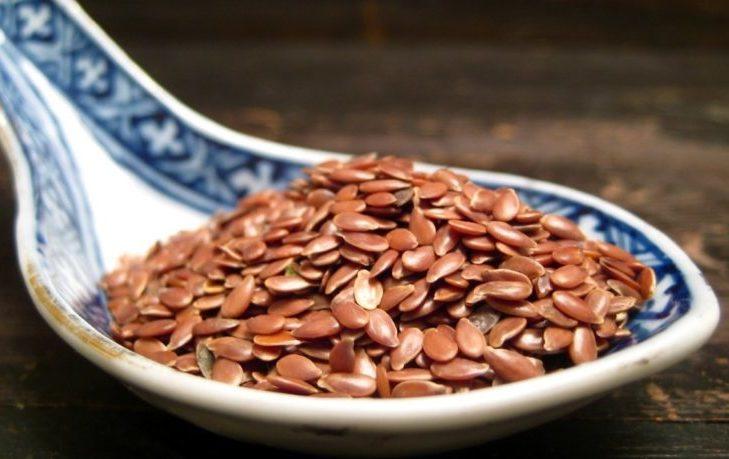 семя льна калорийность на 100 грамм