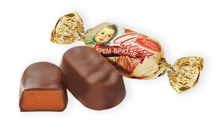 конфеты аленка калорийность 1 шт