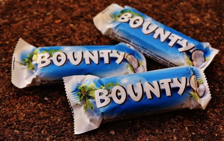 калорийность баунти 1 шт
