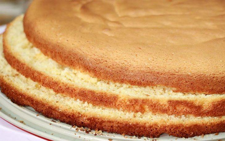 бисквит калорийность в 100 граммах
