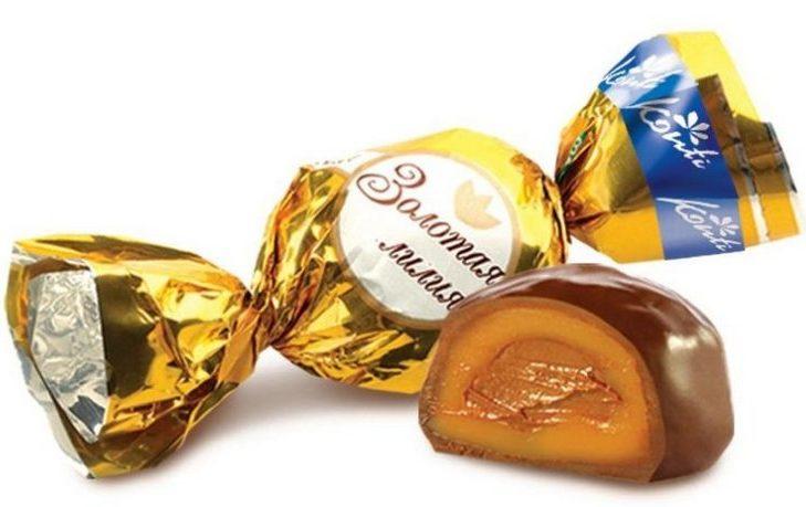 конфеты золотая лилия калорийность 1 шт