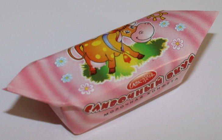 конфета коровка калорийность 1 шт