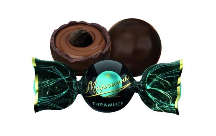 конфеты марсианка калорийность 1 шт