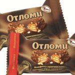 Польза, вред, калорийность конфет Отломи в 1 шт., на 100 грамм