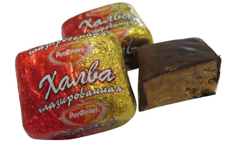 конфета халва в шоколаде калорийность 1 шт