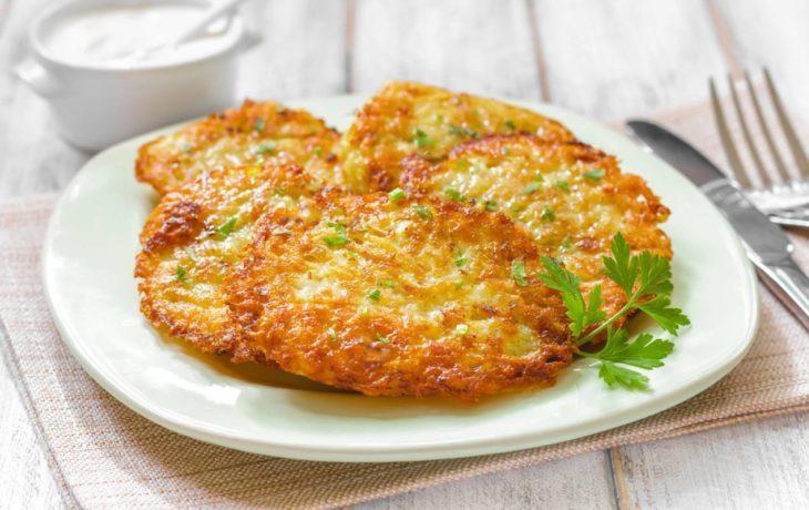 драники картофельные калорийность