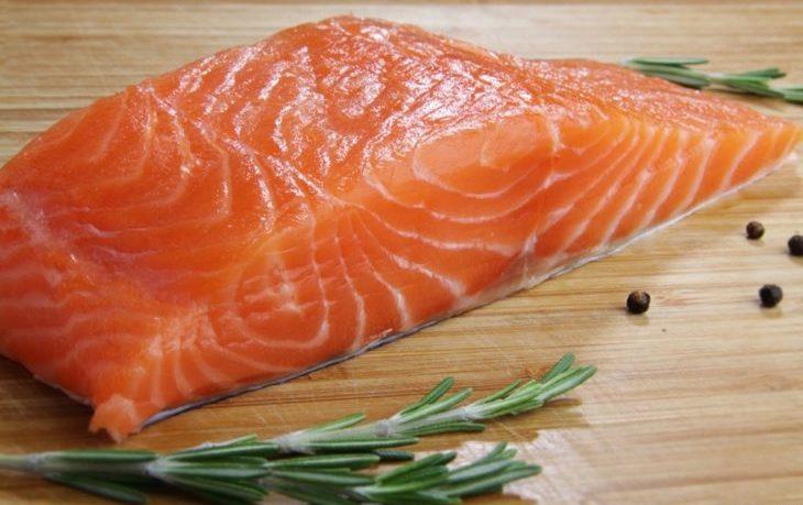 лосось на пару калорийность