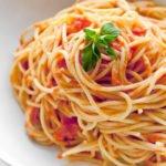 Польза, вред, калорийность спагетти на 100 грамм