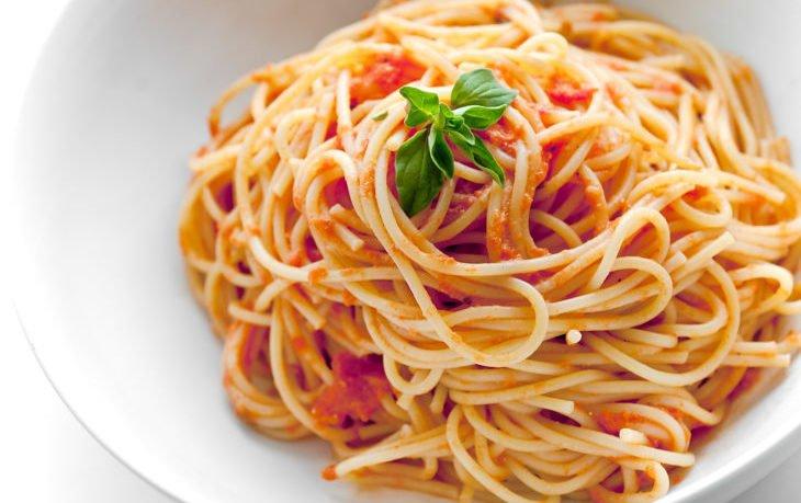 спагетти вареные калорийность
