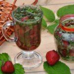 Польза и вред варенья, отвара, чая, листьев земляники