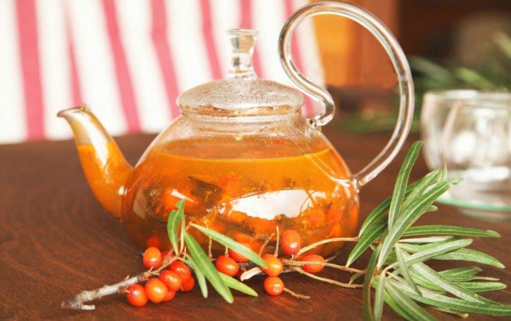чай с облепихой польза
