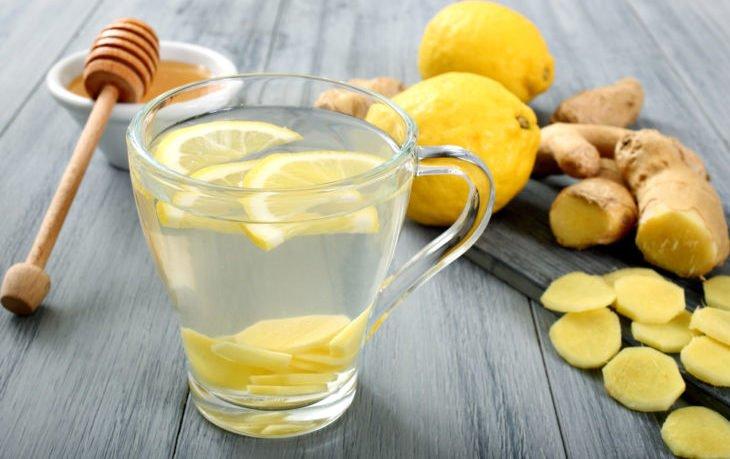 вода с лимоном и имбирем польза
