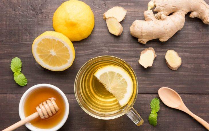 польза имбиря с лимоном и медом
