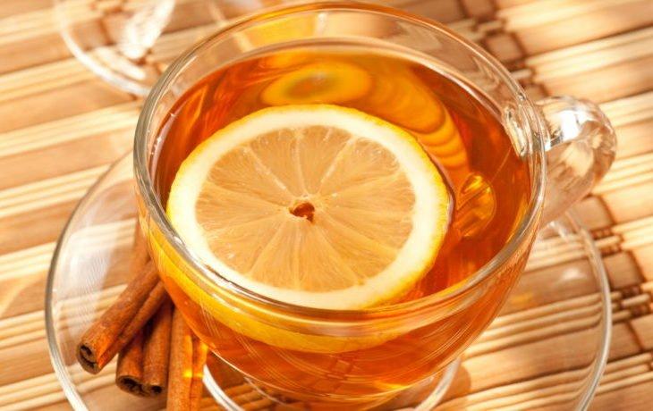 чай с лимоном польза