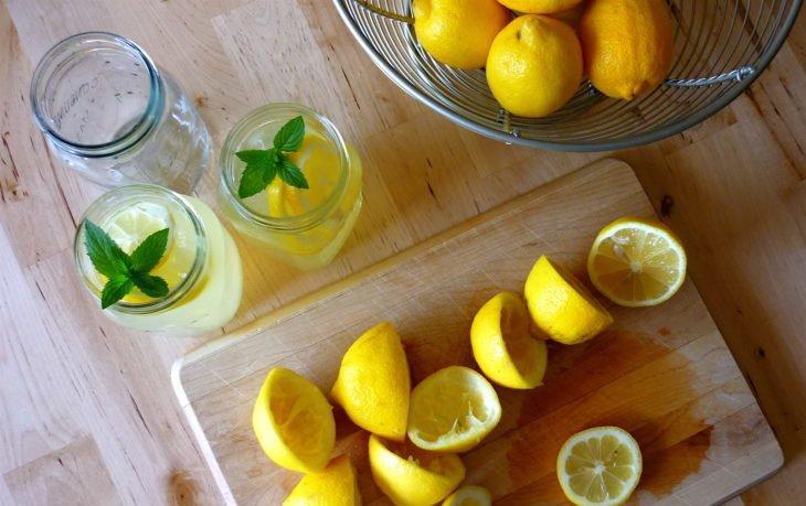 вода с лимоном польза