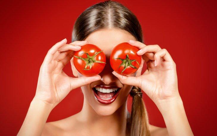 маска из помидор польза