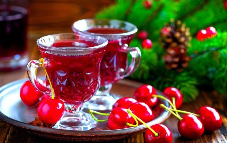 чай из листьев вишни польза