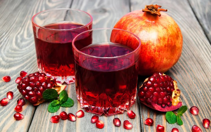сок граната польза и вред